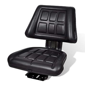 Tractor Seat, cortacésped universal asiento con respaldo para ...