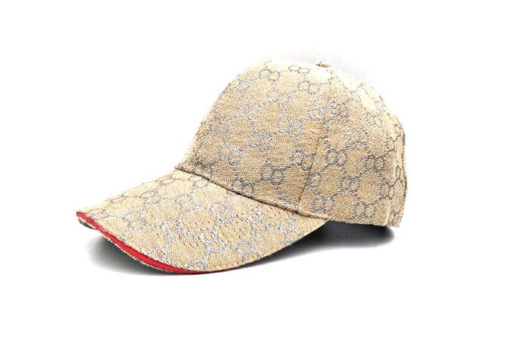 Lvntsx Gorra de Beisbol Bordado Oro Hilo de Plata Gorras de ...
