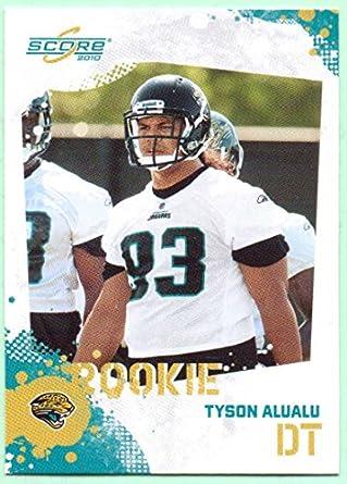 new arrival eaf3f 172f4 Tyson Alualu 2010 Score Rookie #327 - Jacksonville Jaguars ...
