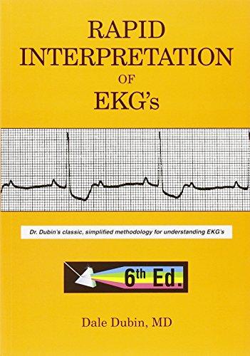 Pdf Medical Books Rapid Interpretation of EKG's, Sixth Edition