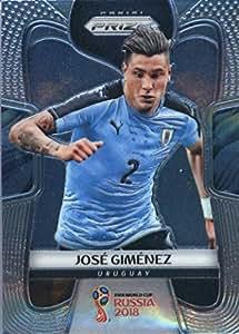2018 Panini Prizm FIFA World Cup Soccer Trading Card #213 Jose Gimenez Uruguay
