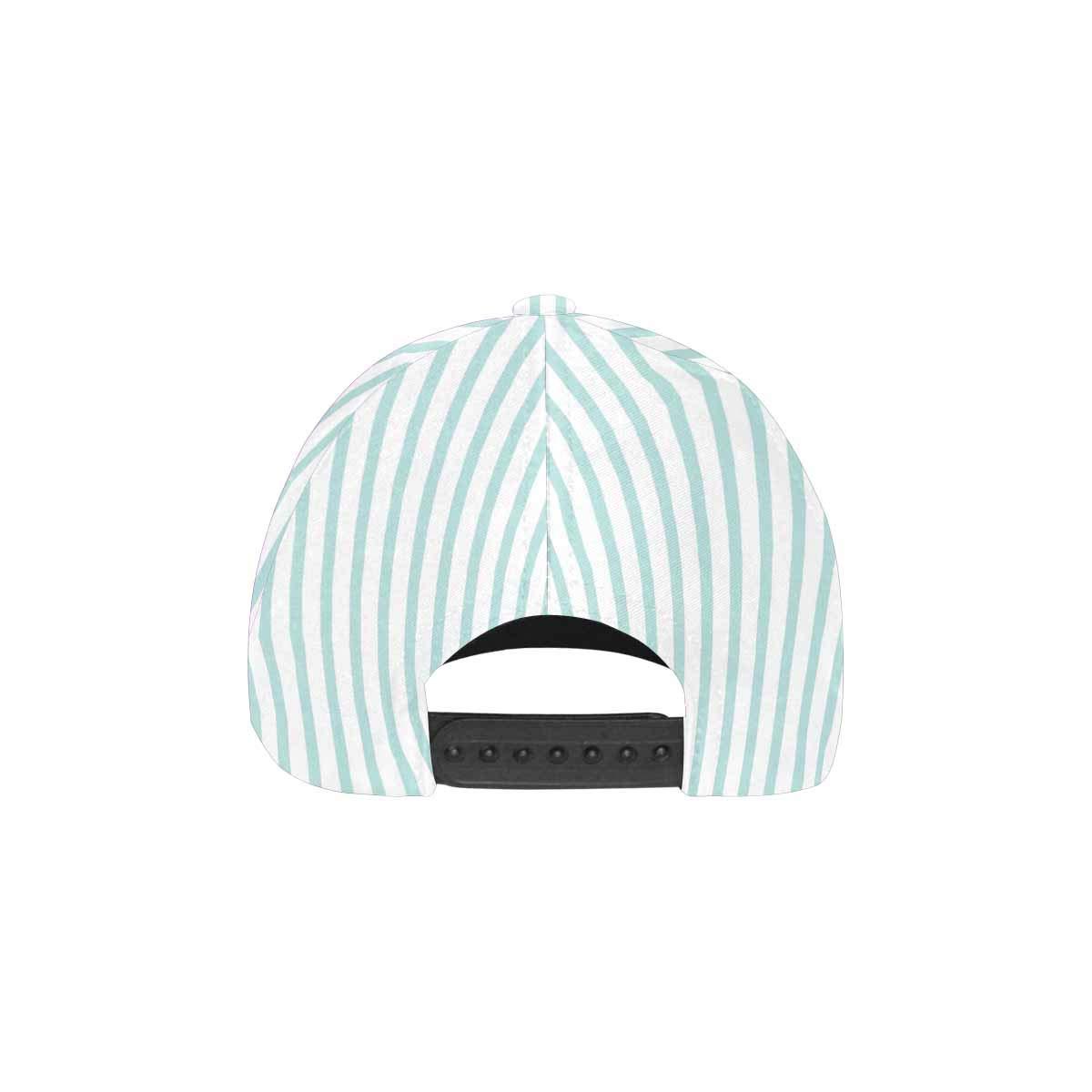755a89ecd6ed Amazon.com: InterestPrint Abstract Fashion Mint and White Stripes ...