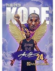 "1978-2020 KOBE BRYANT""Autograph Collections"" Black Mamba Tribute Basketball Card"