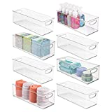 mDesign Storage Bins with Built-in Handles for
