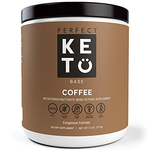 Perfect Keto Base Exogenous Ketone Supplement - Beta-Hydroxybutyrate (BHB) Salts - Ketones for Ketogenic Diet Developed to Support Energy, Focus and Ketosis.
