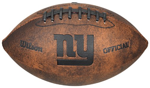 NFL New York Giants Wilson 9-Inch Throwback Football