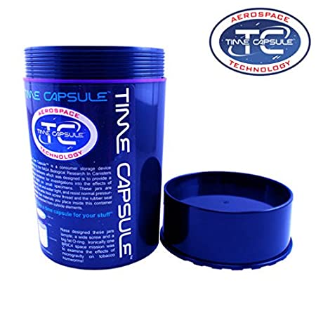 Small Aerospace Technology Waterproof Container Smell Proof Jar Time Capsule