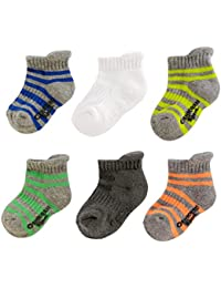 Boy Ankle Socks (6 Pack)