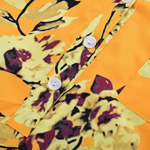 1 Vetements Mode Haut OVERMAL en Top Sweatshirts Blouse Femmes t et Chic T Chemise Jaune Dcontracte Automne Manches Longue Shirt Vrac Sexy dAxxq8Rnfv