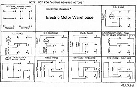 2 hp-7.5 hp Electric Motor Reversing Drum Switch 1 /& 3 Phase Position=Maintained