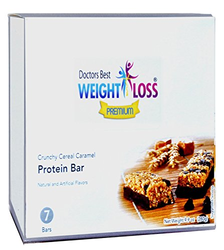Doctors Best Weight Loss - Crunchy Cereal Caramel Protein Diet Bar (7/box)