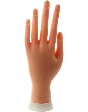 SODIAL (R) de unas de arte practica modelo ejercicio manos dedo pantalla ejercicio Mano