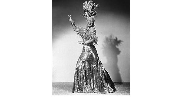 Retrato de Carmen Miranda 30 x 40 fotos Reimpresión: Amazon.es ...