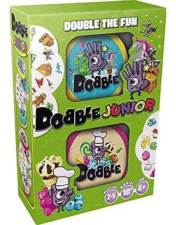 Asmodee ASMDOBBJU01EN Dobble Junior Niño/niña Juguete para el Aprendizaje