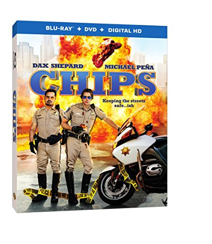 Blu-ray : CHIPS (With DVD, Ultraviolet Digital Copy, Digitally Mastered in HD, Digital Copy, 2 Disc)