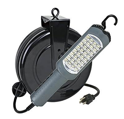 Alert Stamping 5030AS 450-Lumen SMD LED Retractable Reel Work Light