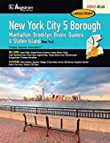New York City, NY 5-Borough Large Print Street Atlas