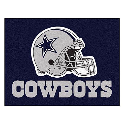 FANMATS NFL Dallas Cowboys Nylon Face All-Star Rug ()