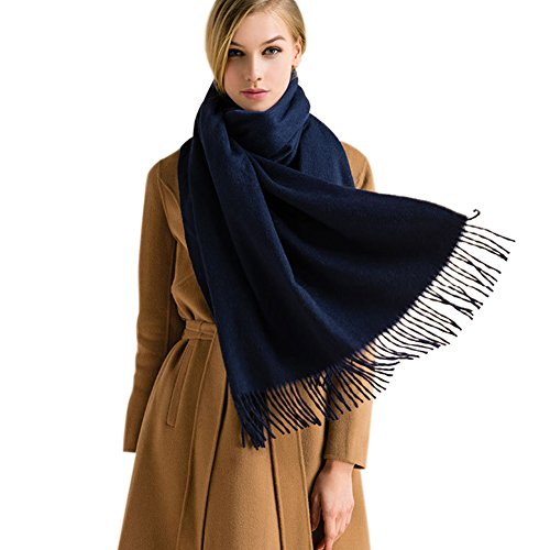 Winter Cashmere Wool Scarf Shawl- Oversized Wrap Scarves For Women FURTALK Designed