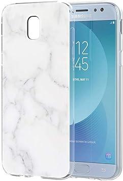 Pnakqil Coque Samsung Galaxy J5 2017, Etui en Silicone 3D Transparent avec Motif Fantaisie Design Anti Choc TPU Housse Couverture arrière Case Cover ...