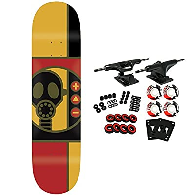 "Alien Workshop Skateboard Complete Gas Mask 8.375"" by Alien Workshop"
