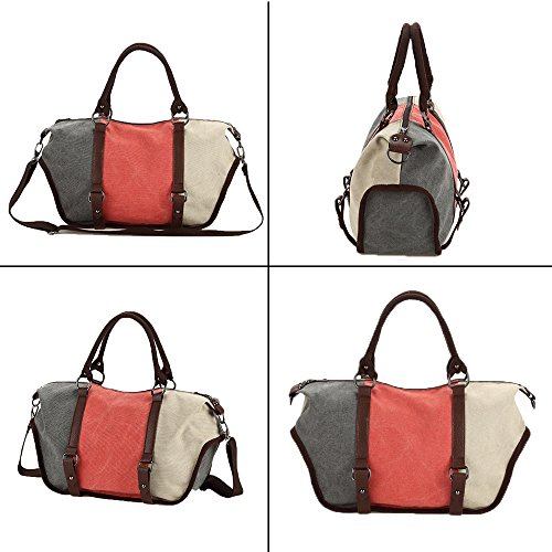 School Bag Bucket Bags Bag Canvas 827 Men's Bag Shouder blue Body Bag Travel Handbag Satchel Hobo Canvas Bag Messenger Cross Vintage Women Unisex 1060 EU Gurscour xwPqpRTp