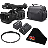 Panasonic HC-X1000 4K DCI/Ultra HD/Full HD Camcorder Essential Bundle- International Version (No Warranty)