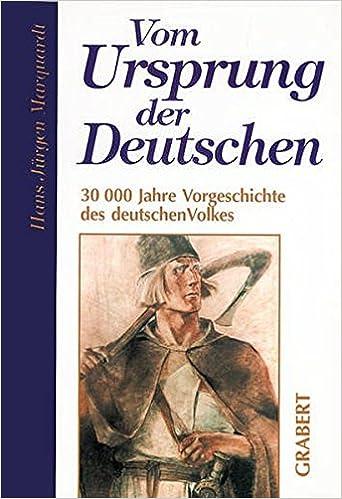 Vom Ursprung der Deutschen: