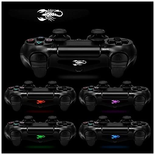 Extremerate 30 Pcs Set Vinyl Reuseable Lighttight Led Light Bar Decals Stickers For Playstation 4 Ps4 Ps4 Slim Ps4 Pro Remote Controller Skins H