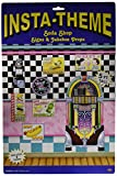 Soda Shop Signs & Jukebox Props Party Accessory (1 count) (8/Pkg)