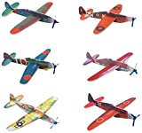 "Toys : Rhode Island Novelty 8"" Flying Glider Plane Set of 12"