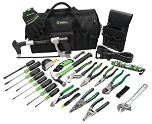 Greenlee 0159-11 Electrician's Tool Kit, 28-Piece by Greenlee