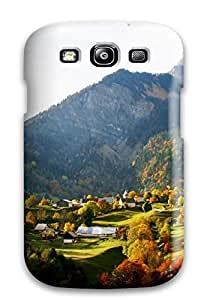 Fashion Tpu Case For Galaxy S3- Place Defender Case Cover