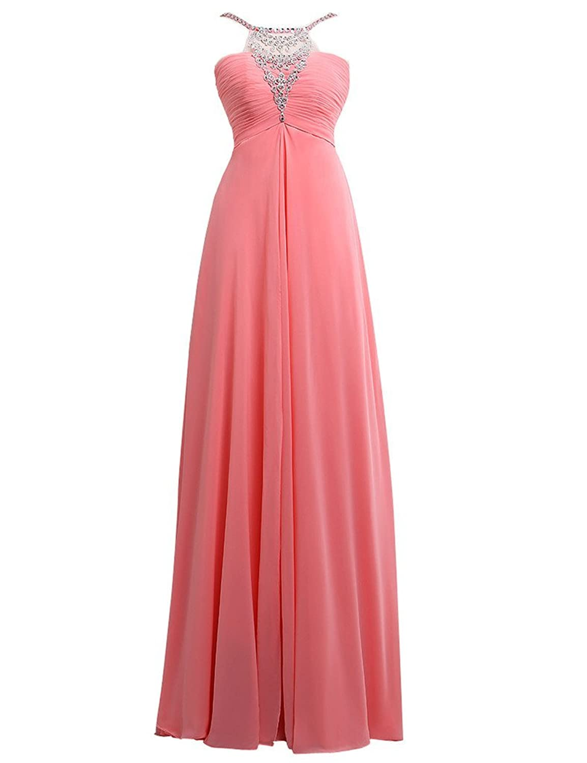 JAEDEN Perfect Ruched Long Prom Dresses Formal Evening Gown