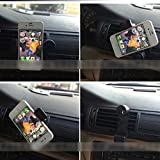 "Car Air Vent Holder Mount Support for iPhone 4S 5S 6 4.7 Plus 5.5"" Galaxy Note 4 Black"