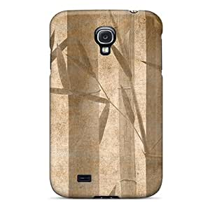 EOVE Premium Protective Hard Case For Galaxy S4- Nice Design - Just Bamboo