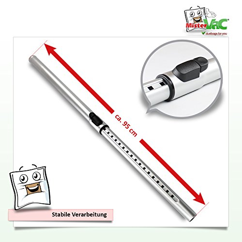 Télescopique de tube d'aspirateur pour Rowenta RO bm-2341Power Space