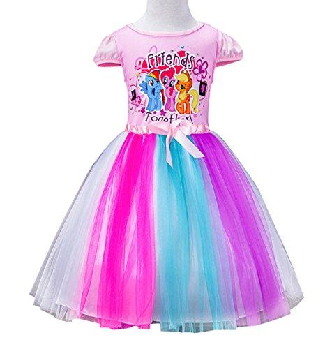 lemonbaby-little-girls-my-little-pony-short-sleeve-princess-birthday-tutu-dress-2y-7y-5-6y-pink