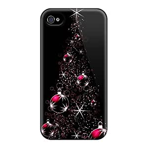 meilz aiaiHot Design Premium XJS341mfoX Tpu Case Cover iphone 6 Protection Case(christmas Tree In Red)meilz aiai
