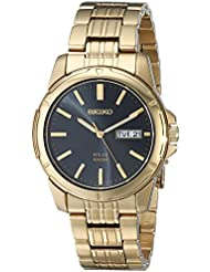 Seiko Mens SNE100 Solar Functional Watch