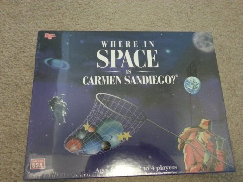 Where in Space Is Carmen Sandiego Game by University Games