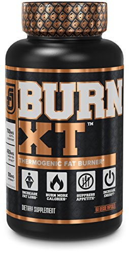 BURN-XT Thermogenic Fat Burner – Weight Loss Supplement, Appetite Suppressant, & Energy Booster – Premium Fat Burning Acetyl L-Carnitine, Green Tea Extract, & More – 60 Natural Veggie Diet Pills