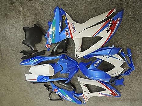 Liquor for Suzuki GSXR600 GSXR750 K8 2008-2009 Blue Brand New Motorcycle ABS Plastic UV Painted Injection Mold Bodywork Fairing Kit Set
