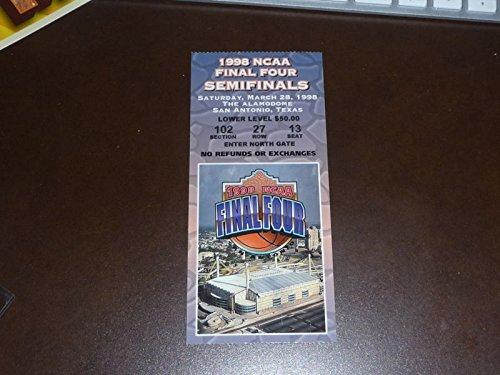 (1998 NCAA FINAL FOUR TICKET KTY, UTAH, NC, STANFORD)