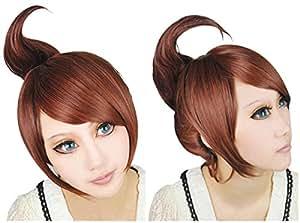 Cfalaicos Danganronpa Asahina Aoi Mixed Brown Party Cosplay Wig