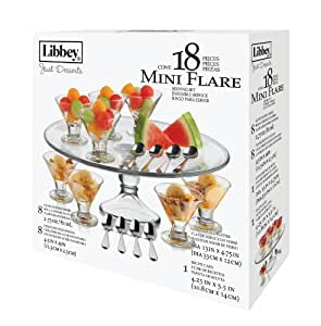 Libbey Just Desserts Mini Flare Glass With