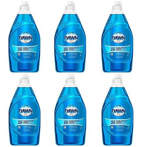 Dawn Dish Soap, Ultra Dishwashing Liquid, Original, 14.6 Ounce, (Pack of (Dawn Liquid)