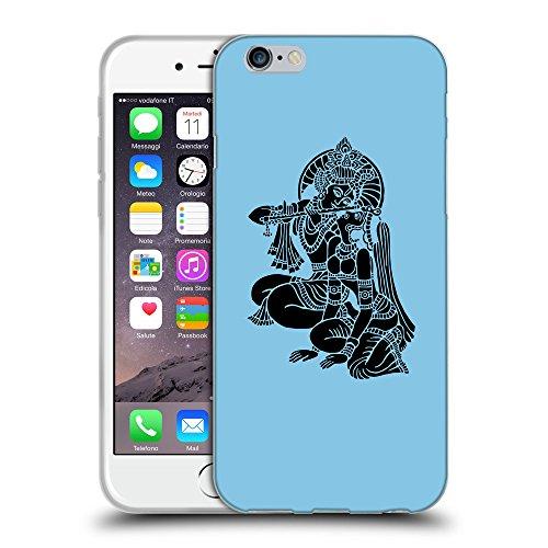 GoGoMobile Coque de Protection TPU Silicone Case pour // Q08140609 Hindou 5 Bébé bleu // Apple iPhone 7