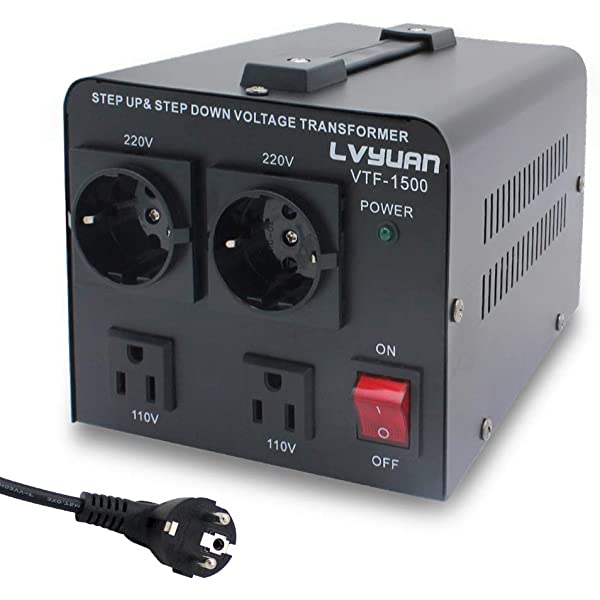 Bronson++ TI 2000 - Transformador de 110 Voltios: Amazon.es ...