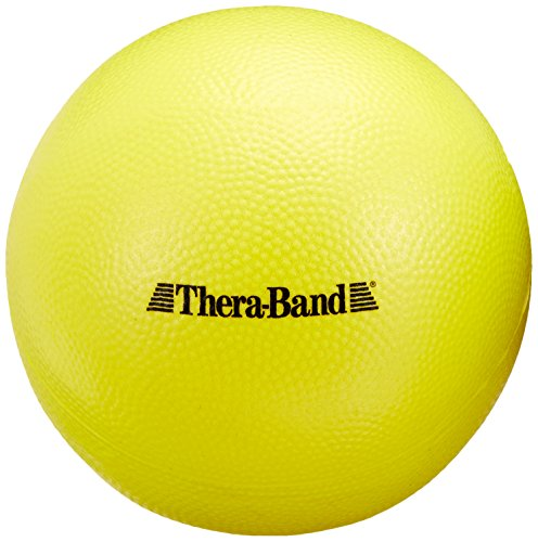 TheraBand Mini Ball, Small Exercise Ball for Yoga, Pilates, Abdominal Workouts, Shoulder Therapy, Core Strengthening, At-Home Gym & Physical Therapy Tool